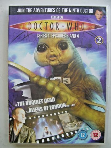 Doctor Who Series 1 Episodes 3 & 4  DVD  Christopher Eccleston